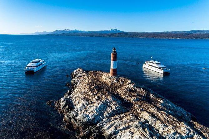Canoero Catamarans - Canal Beagle Tour, Sea Lions and Les Eclaireurs Lighthouse.