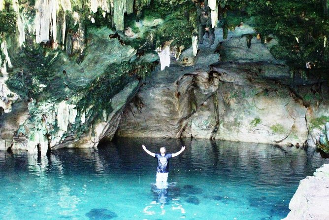 Small Group Cenotes Adventure and Family Lunch Tour