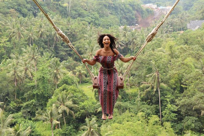 Ubud Day Tour with Jungle Swing