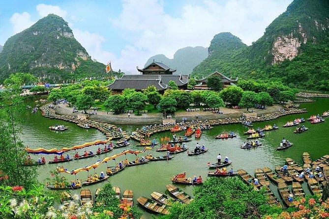 Amazing Trang An Bich Dong Pagoda Day Tour