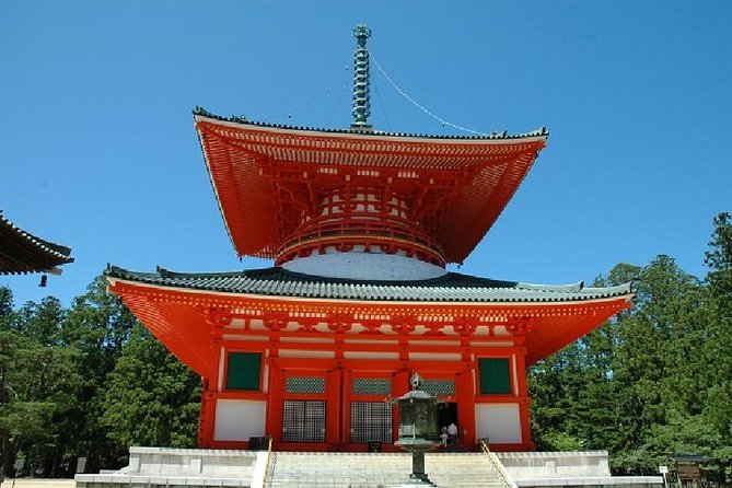 Mt Koya 1 Day Trip - Okunoin Temple & Danjo Garan Temples from Osaka