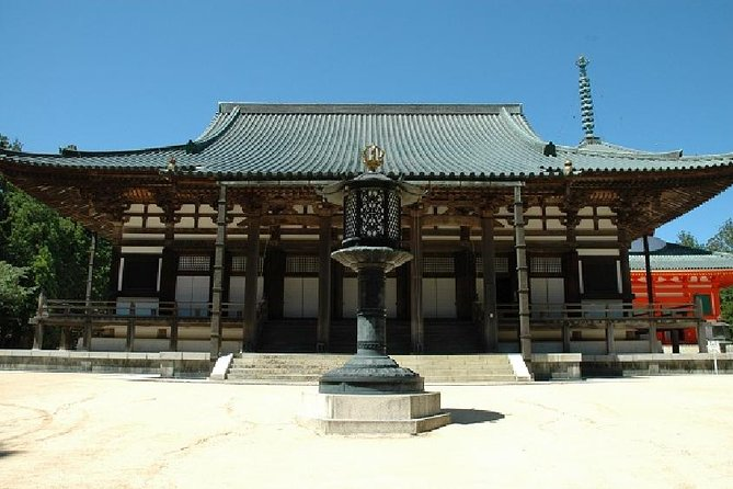 Mt Koya Tour with Overnight Stay at Fukuchi-in Temple by Rail from Osaka