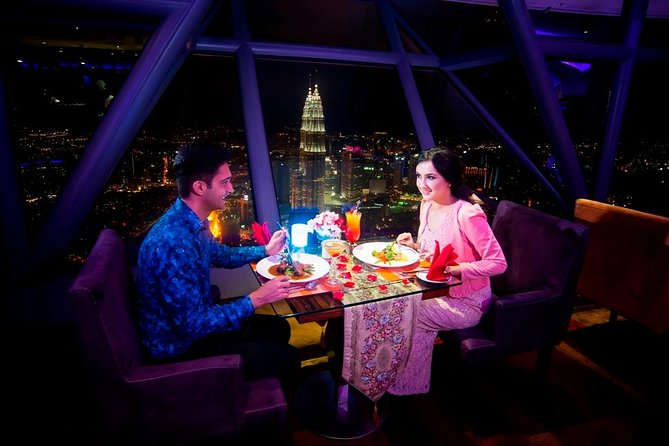 Kuala Lumpur Day Tour with Dinner at KL Tower Revolving Restaurant