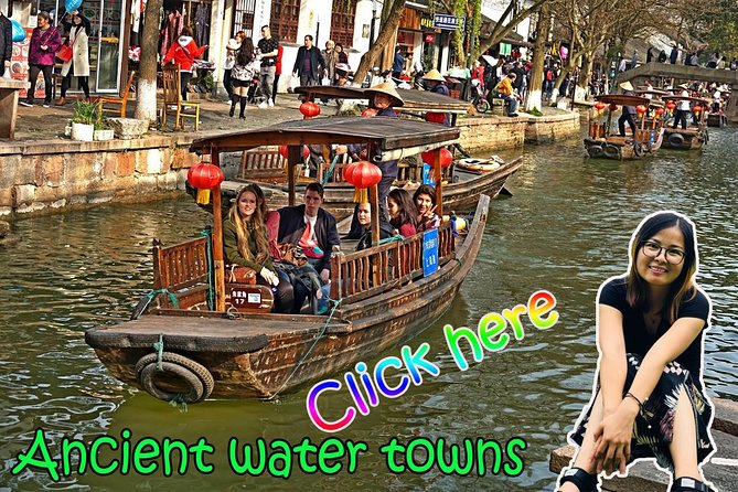 ZhuJiaJiao Ancient water town half day tour or one day private tour
