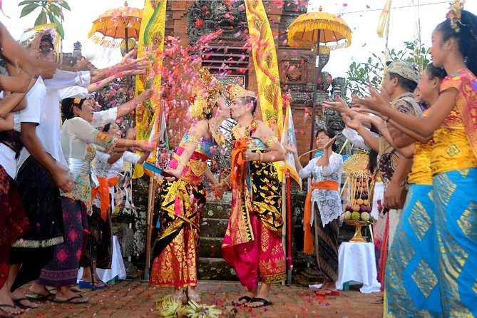 The Royal Style Balinese Wedding In A Prince Palace