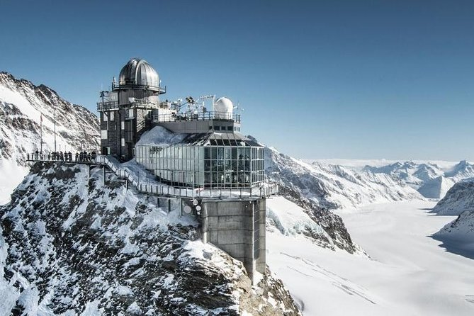 2-Day Jungfraujoch Top of Europe Tour from Zurich: Interlaken or Grindelwald