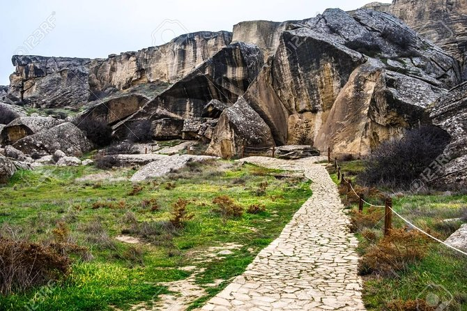 "Gobustan & Mud Volcanoes Group tour ""Entrance fee included"""