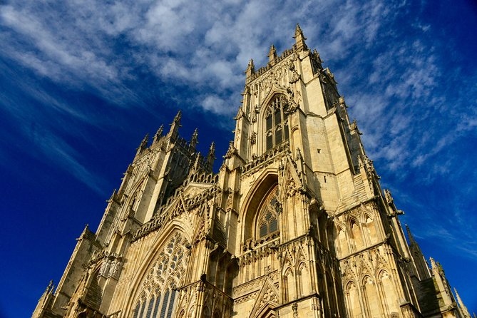 York Minster - the largest gothic cathedral in the country