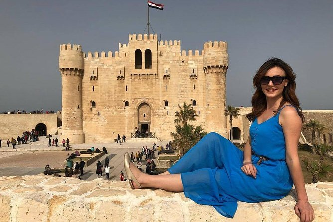 Alexandria Day Tour National Museum & Roman Theater & Catacomb Guide & Lunch Inc