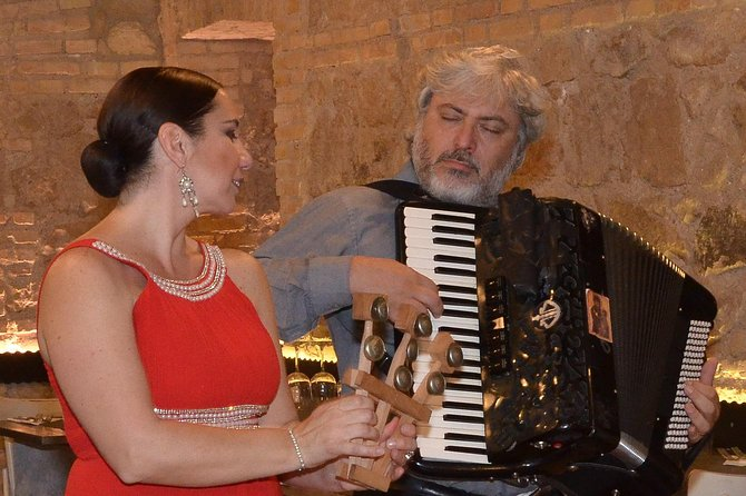 Rome Spaghetti Opera Dinner - Enjoy a Bella Notte with Live Music, Food & Wine