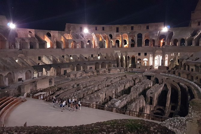 Colosseum Underground Night Tour