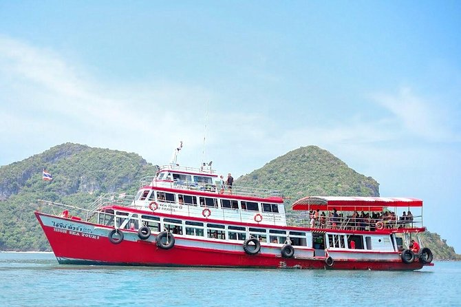 Ang Thong National Marine Park Tour by Big Boat from Koh Samui