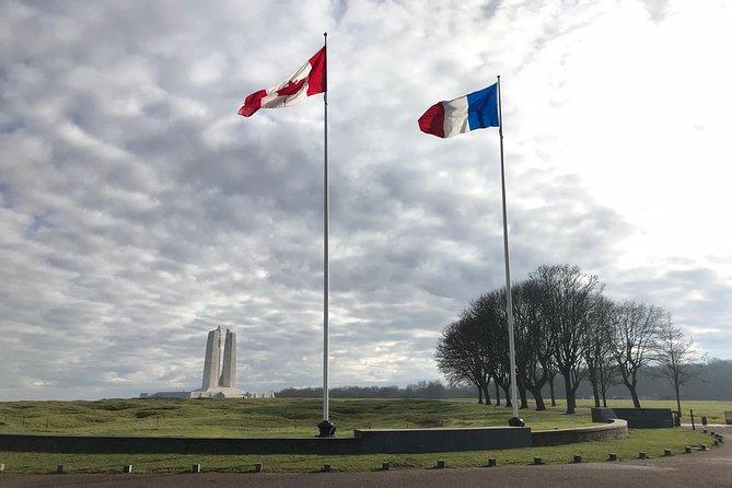 Gita giornaliera per piccoli gruppi ai campi di battaglia della Prima Guerra Mondiale di Arras e Vimy Ridge, da Parigi