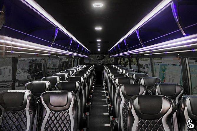 2019 50 Passenger Bus Transport Airport/port Transfers, Miami/broward