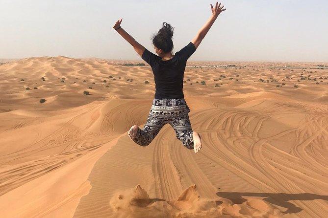 Dubai: Unique MORNING 4WD Safari