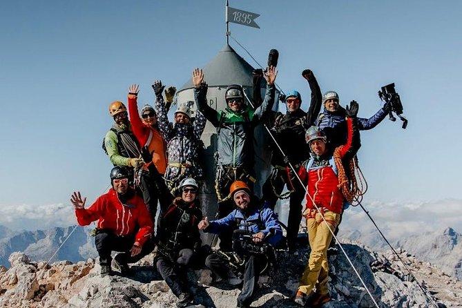 Climbing Mount Triglav in Slovenia