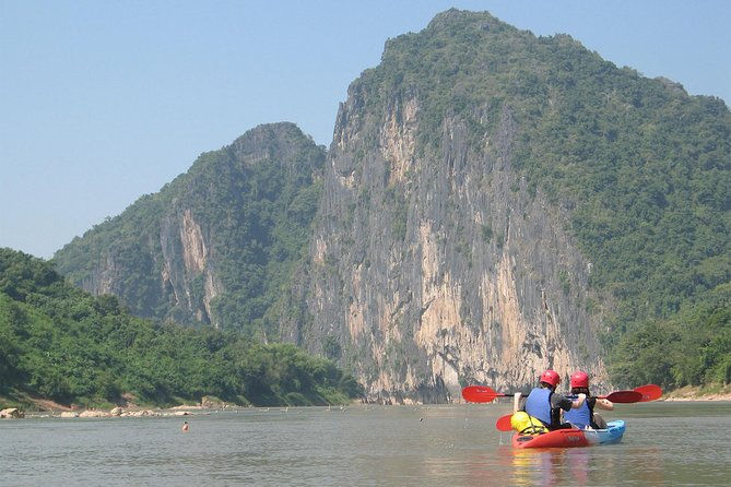 FULL DAY – Kuang Si Waterfall, Kayak on the Nam Ou / Mekong River, Pak Ou Caves
