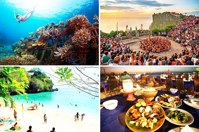 Blue Lagoon Snorkeling and Uluwatu Sunset Tour