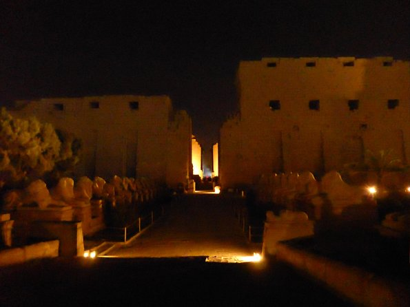 Private Karnak Temple Sound and Light Show Night Tour in Luxor