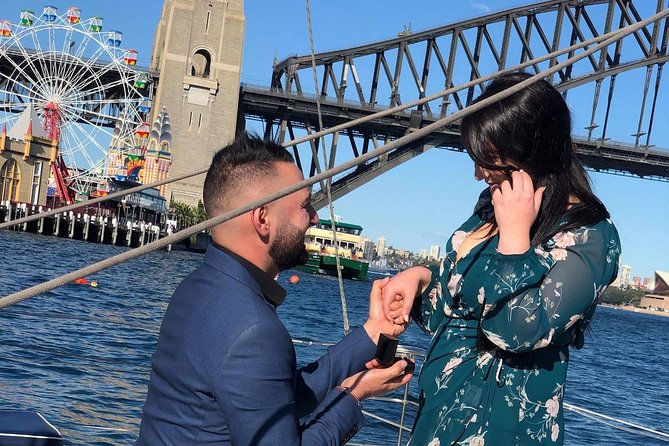 Private Sunset Sydney Harbour Romance Cruise for Two with Seafood Dinner
