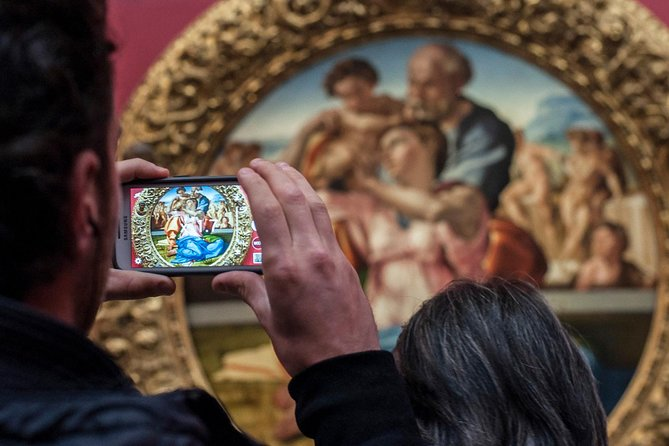 Uffizi Gallery Ticket with instant delivery & mobile-guided Tour