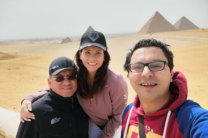 Half day Giza Pyramids, Solar Boat and Sphinx : ONLY GUIDE