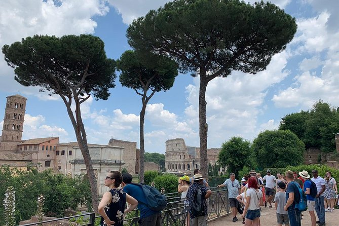 Rome Palatine Hill And Ancient Palaces Walking Tour