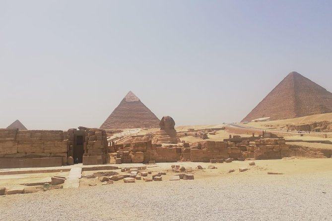 Cairo day trip private from hurghada (pyramids, sphinx, museum, hanging church)