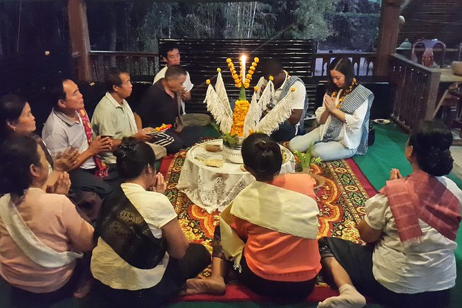 Home-cooked dinner & Baci ceremony with Villagers in Ban Nasang