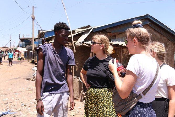 Cross cultural exchange in Kibera