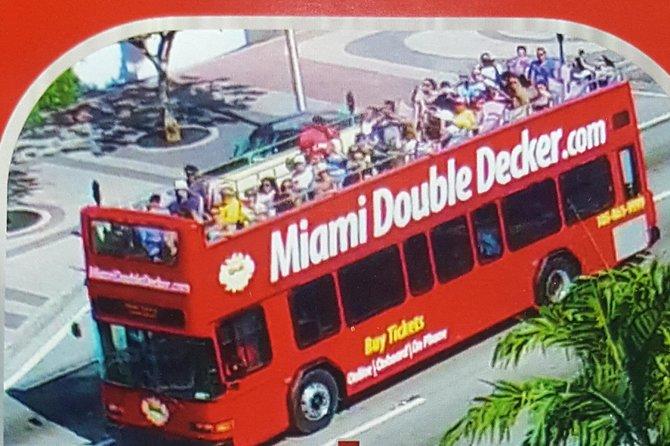 Pase para 2 días en el autobús turístico de Miami