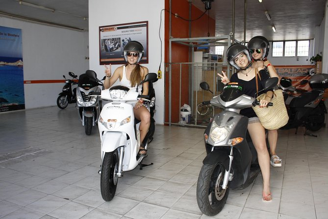 Motorcycle rental in Menorca and Mallorca