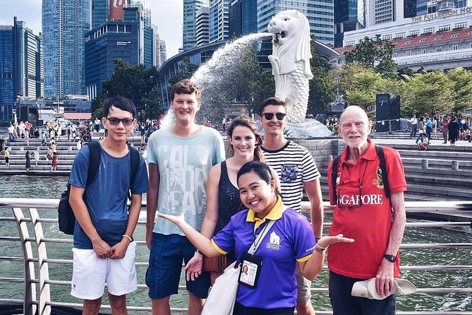Private Original Singapore City Sightseeing Walking Tour