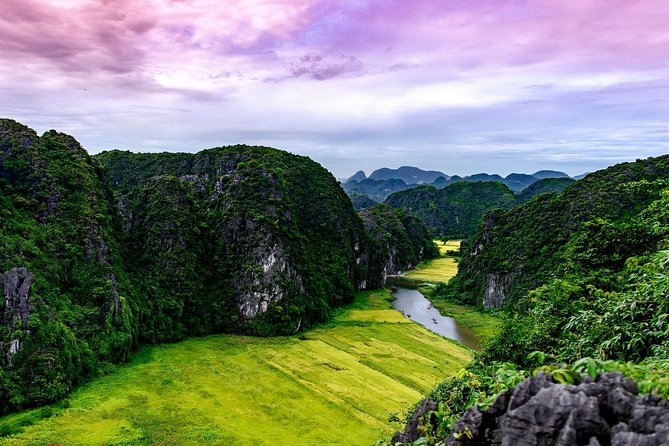 Ninh Binh Daily Tour: Hoa Lu -Mua Cave -Tam Coc- Bike-Swimming with Sunset Party