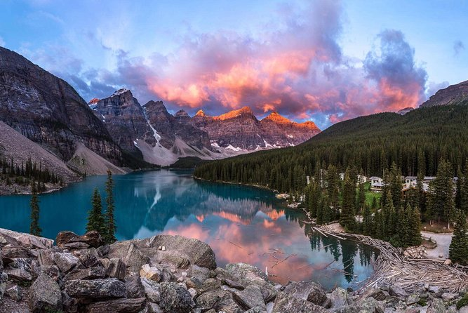 Classic 4D-Banff, Yoho & Columbia Icefield Tour from Calgary (Airport Transfer)