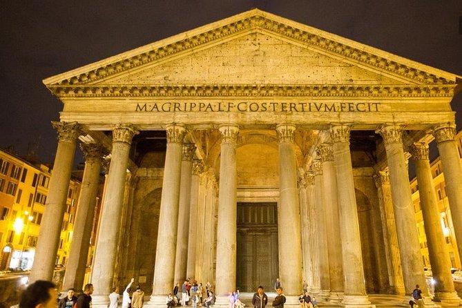 Rome by night semi-private:Spanish step, Trevi fountain, Pantheon, Navona square