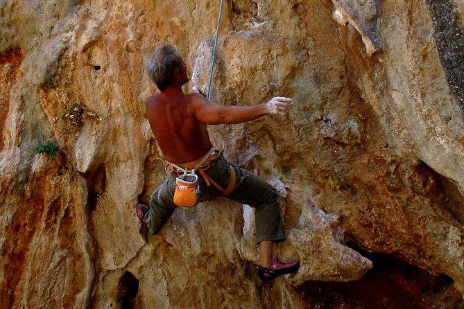 Kalymnos climbing courses, coaching, and guiding