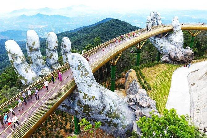 Private Car Hoi An to Golden Bridge