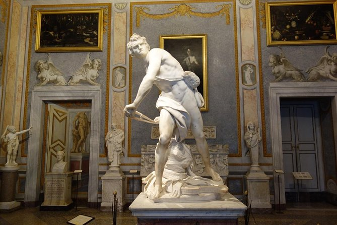 Sketching The Borghese Gallery