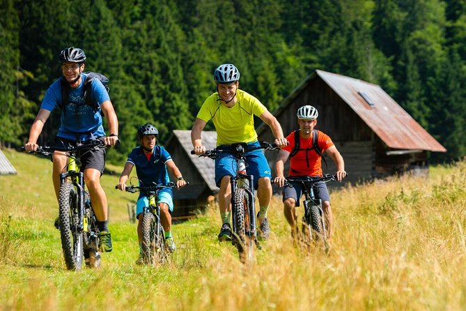 Explore the hunting trails by ultimate Bled e-bike tour