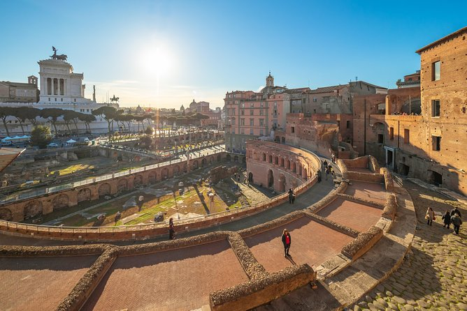 Imperial Forum Pass w/ Trajan's Market Private Tour by PhD Guide Donato