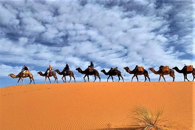 Tangier to Sahara desert with overnight stay in desert camp 4 days