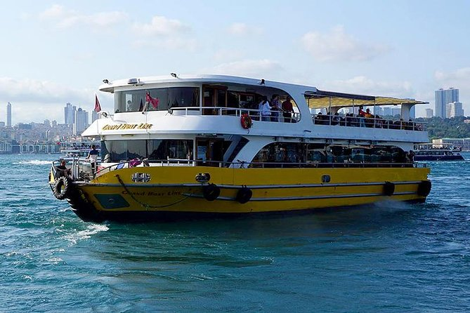 120-Minute Istanbul Golden Horn and Bosphorus Tour