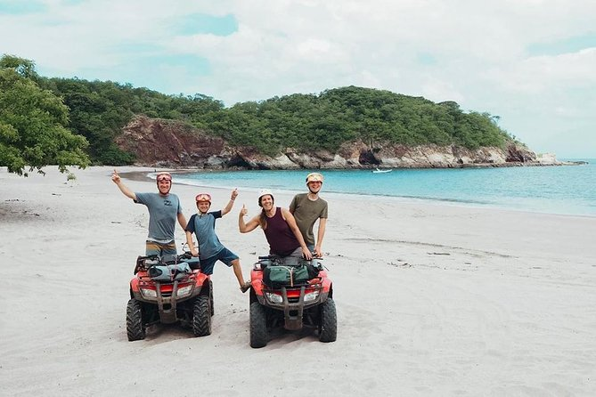 2.5 Hours Tamarindo ATV Snorkel Tour to Secluded Beaches