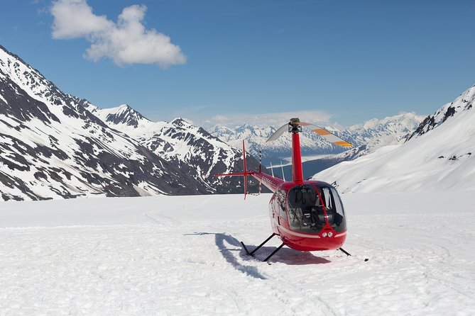 Alaska Helicopter and Glacier Dogsled Tour