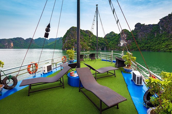 Viet Luxury Cruise Full Day Trip with High Way Transfer & New Cruise Route