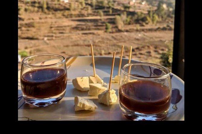 Nepalese goat cheese tasting with short trek near Kathmandu