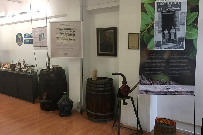 Polykala Distillery showroom. A122 years of history along with liqueur tasting. photo 7