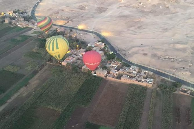 Hot-Air Balloon ride over the ancient wanders of luxor