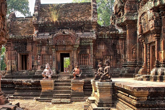 Banteay Srey & Kbal Spean by Jeep